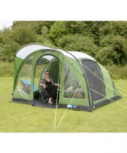 Kampa Brean 4 Air Tent 2019 (Inc: Carpet + Footprint)